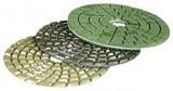 Makita Kőpolírozó tárcsa világos zöld, 100mm, szemcse finomság: 1500, 4500 fordulat/perc
