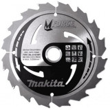 Makita M Force körfűrésztárcsa ⌀165mm, fogszám: 16db, furat ⌀ 20mm