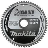 Makita Specialized körfűrésztárcsa alumíniumhoz ⌀250mm, fogszám: Z80, furat ⌀30mm