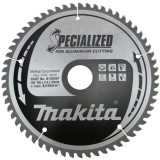 Makita Specialized körfűrésztárcsa alumíniumhoz ⌀190mm, fogszám: Z60, furat ⌀20mm