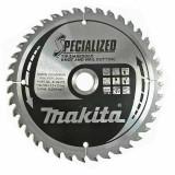 Makita Specialized beágyazott fogú körfűrésztárcsák ⌀190mm, fogszám: Z40, furat ⌀30mm
