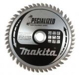 Makita Specialized körfűrésztárcsa ⌀165mm, fogszám: 48db, furat ⌀ 20mm