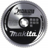 Makita Specialized körfűrésztácsa szendvicspanelhez ⌀235mm, fogszám: 50db, furat ⌀ 30mm