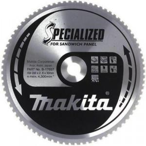 Makita Specialized körfűrésztácsa szendvicspanelhez ⌀235mm, fogszám: 50db, furat ⌀ 30mm termék fő termékképe