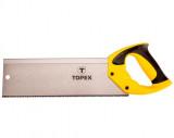 Topex 10A706 illesztő fűrész, 13 TPi, 350 mm