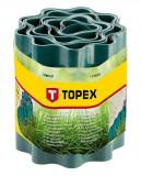 Topex 15A501 ágyásszegély, zöld, 15 cm x 9 m