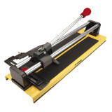 Topex 16B140 mechanikus csempevágó, alumínium munkalap, golyóscsapágyas, 400 mm
