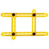 Topex 16B476 szögmásoló vonalzó, 30x2.5 cm / 17.5x2.5 cm