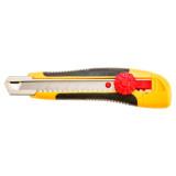 Topex 17B118 törhető pengéjű kés, műanyag ház, fém pengevezető, 18 mm