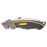 Topex 17B172 trapézpengés kés, fém, gumírozott markolattal