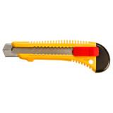 Topex 17B191 törhető pengéjű kés, műanyag ház, fém pengevezető, 18 mm