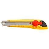 Topex 17B192 törhető pengéjű kés, műanyag ház, fém pengevezető, 18 mm