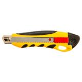 Topex 17B428 törhető pengéjű kés, műanyag ház, fém pengevezető, 18 mm