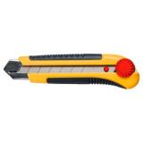 Topex 17B490 törhető pengéjű kés, műanyag ház, fém pengevezető, 25 mm