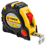 Topex 27C343 acél mérőszalag, mágneses, 3m/19mm