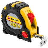 Topex 27C345 acél mérőszalag, mágneses, 5m/25mm