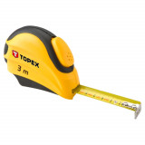 Topex 27C383 acél mérőszalag, 3m/16mm