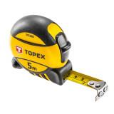 Topex 27C395 acél mérőszalag, mágneses, 5m/16láb/19mm