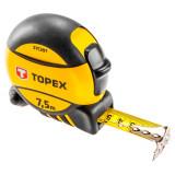 Topex 27C397 acél mérőszalag, mágneses, 7.5m/25láb/25mm