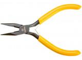 Topex 32D032 műszerész félkerekcsőrű fogó, 125 mm