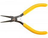 Topex 32D034 műszerész kerekcsőrű fogó, 125 mm