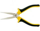 Topex 32D125 félkerekcsőrű fogó, 160 mm