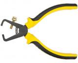 Topex 32D407 állítható kábelcsupaszoló fogó, 0.5-5 mm2, 160 mm