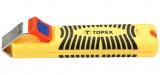 Topex 32D810 kábelcsupaszoló, 8-28 mm2, 130 mm