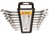 Topex 35D656 villáskulcs készlet, CrV acél, 8 részes