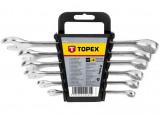 Topex 35D755 csillag-villáskulcs készlet, CrV acél, 6 részes