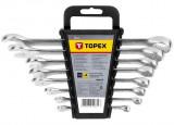 Topex 35D756 csillag-villáskulcs készlet, CrV acél, 8 részes