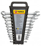 Topex 35D757 csillag-villáskulcs készlet, CrV acél, 12 részes