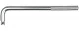 """Topex 38D556 L-hajtószár 1/2"""" négyszög meghajtóval, CrV acél, 250 mm"""