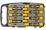 Topex 39D558 műszerész csavarhúzó készlet, CrV acél, 7 részes