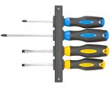 Topex 39D884 csavarhúzó készlet, CrV acél, 4 részes