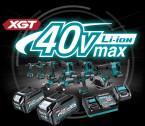 Akciós MAKITA 40V MAX XGT Li-ion akkus kisgépek