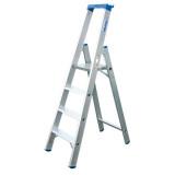 STABILO Professional egy oldalon járható lépcsőfokos állólétra, 4 fokos