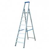 STABILO Professional egy oldalon járható lépcsőfokos állólétra, 8 fokos