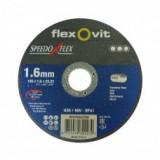 SpeedoFlex vágókorong 125 x 1,6 x 22,2 FÉM - INOX