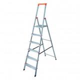 MONTO Solidy egy oldalon járható lépcsőfokos állólétra, 6 fokos