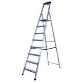 MONTO Safety egy oldalon járható lépcsőfokos állólétra, 8 fokos