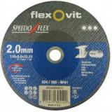 SpeedoFlex vágókorong 230 x 2,0 x 22,2 FÉM - INOX