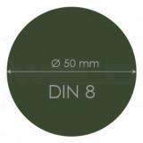 Védőüveg DIN 8 50mm