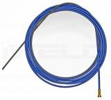 Huzalvezető spirál szigetelt 0,8-1,0 5m kék
