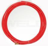 Huzalvezető teflon 1,0-1,2 4m piros