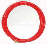 Huzalvezető teflon 1,0-1,2 3m piros