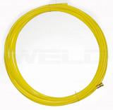 Huzalvezető teflon 1,4-1,6 5m sárga