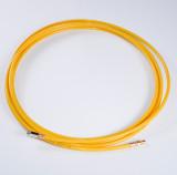 Huzalvezető spirálhoz kábelcsatorna 4m sárga