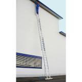 STABILO Professional háromrészes létrafokos húzóköteles létra, 3x18 fokos
