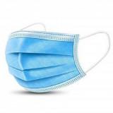 Egészségügyi szájmaszk 3 rétegű kék